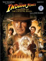 Williams John - Indiana Jones - Crystal Skull + Cd - Saxophone And Piano