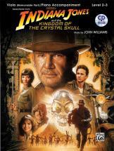 Williams John - Indiana Jones - Crystal Skull + Cd - Viola And Piano