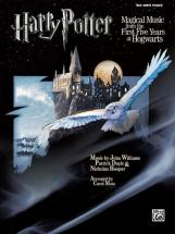 Williams John - Harry Potter Magical Music 1-5 - Piano Solo, Big Notes