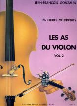 Garlej B./ Gonzales J.f. - Les As Du Violon Vol.2 - Violon, Piano