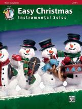 Easy Christmas Instrumental Solos + Cd - Saxophone And Piano