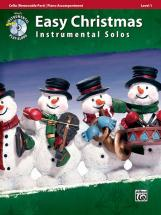 Easy Christmas Inst Solos + Cd - Cello Solo