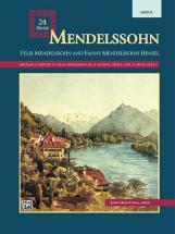 Paton John Glenn - Mendelssohn 24 Songs - Solo Voice (par 10 Minimum)