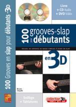 Tauzin B. - 100 Grooves En Slap Debutant A La Basse En 3d + Cd + Dvd
