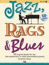 Mier Martha - Jazz Rags And Blues 1 - Piano