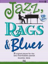 Mier Martha - Jazz Rags And Blues 4 - Piano