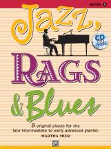 Mier Martha - Jazz Rags And Blues 5 - Piano