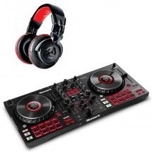 Numark Pack Mixtrack Platinum Fx + Red Wave Carbon
