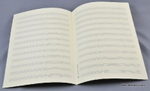 Notenpapier - Din A 4 Hoch 12 Systeme