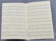 Notenpapier - So Hoch 5x2 Systeme