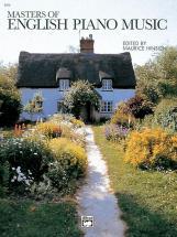 Masters Of English Piano Music - Piano Solo