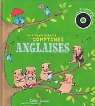 Les Plus Belles Comptines Anglaises - Livre-disque