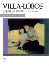 Villa-lobos Heitor - A Prole Do Bebe No1 - Piano Solo