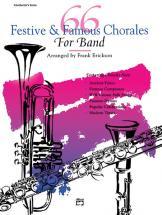 Erickson Frank - 66 Festive And Famous Chorales - Trombone 3