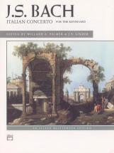 Bach Johann Sebastian - Italian Concerto - Piano Solo