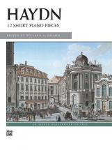 Haydn Franz Joseph - 12 Short Piano Pieces - Piano