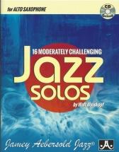 Weiskopf Walt - 16 Moderatly Challenging Jazz Solos - Alto Saxophone