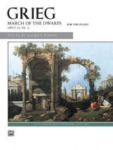 Grieg Edvard - March Of The Dwarfs - Piano Solo