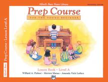 Palmer Manus And Lethco - Alfred Prep Course Lesson Book Level A - Piano