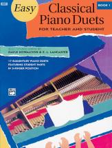 Kowalchyk And Lancaster - Easy Classical Piano Duets Book 1 - Piano Duet