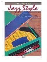 Catherine Rollin - Spotlight On Jazz Style - Piano