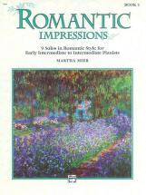 Mier Martha - Romantic Impressions Book 1 - Piano