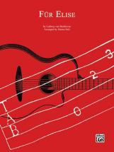 Beethoven Ludwig Van - Fur Elise - Guitar Tab
