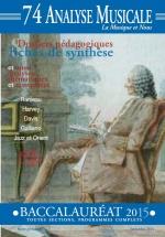 Analyse Musicale N°74 - Bac 2015