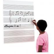 Fuzeau Tableau Pour La Formation Musicale 64,5 X 86 Cm