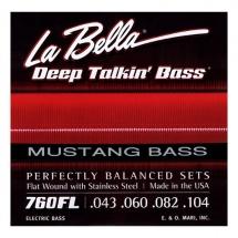 Labella Deep Talkin\' Bass Flat Wound Stainless Steel ? 43/104