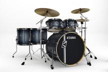 Tama Sl62hzbns-bts - Kit Superstar Custom Hyper-drive 6 F�ts Sans Accessoires - Blue Titanium Satin Burst