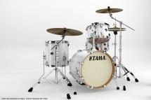 Tama Vp48s-pwh - Kit Silverstar Custom 2014 4 F�ts Sans Accessoires - Piano White