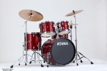 Tama Ip50h6-cpm - Kit Imperialstar 5 Futs Avec Accessoires - Candy Apple Mist