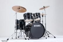 Tama Ip50h6-hbk - Kit Imperialstar 5 Futs Avec Accessoires - Hairline Black