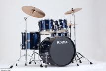 Tama Ip52kh6-mnb - Kit Imperialstar 5 Futs Avec Accessoires - Midnight Blue