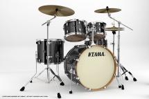 Tama Vd52krs-bcb - Kit Silverstar 5 Fûts Sans Accessoires - Brushed Charcoal Black