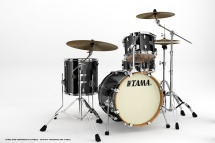 Tama Vd48s-bcb - Kit Silverstar 4 Fûts Sans Accessoires - Brushed Charcoal Black