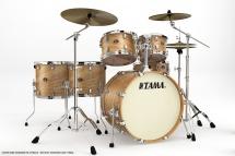 Tama Va62rs-mta - Kit Silverstar Rock Tamo Ash 6 Futs Sans Accessoires - Matte Tamo Ash