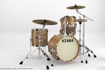 Tama Va48s-mta - Kit Silverstar Jazzette Tamo Ash 4 Futs Sans Accessoires - Matte Tamo Ash