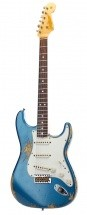 Fender Custom Shop Heavy Relic \'65 Stratocaster Lake Placid Blue Red