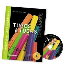 Tubes A Tubes - 20 Pieces Pour Boomwhackers - Livre + Cd