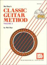 Bay Mel - Classic Guitar Method Volume 3 + Cd - Guitar