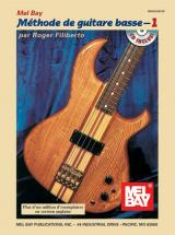 Filiberto Roger - Electric Bass Method, Volume 1, French Edition + Cd - Electric Bass
