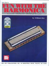 Bay William - Fun With The Harmonica + Cd + Dvd - Harmonica