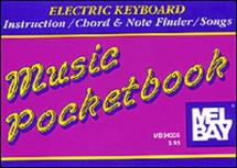 Electric Keyboard Pocketbook - Electronic Keyboard