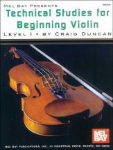 Duncan Craig - Technical Studies For Beginning - Violin