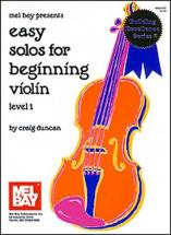 Duncan Craig - Easy Solos For Beginning - Violin
