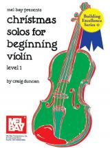 Duncan Craig - Christmas Solos For Beginning - Violin