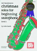Buerk Mike - Christmas Solos For Beginning Saxophone - Saxophone