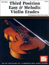 Hack Swoveland Stephanie - Third Position Easy And Melodic Violin Etudes - Violin